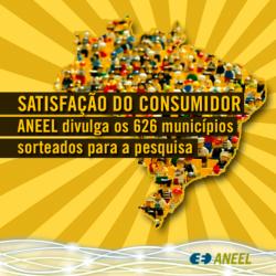 ANEEL pesquisa satisfação de consumidores de 11 municípios de MS