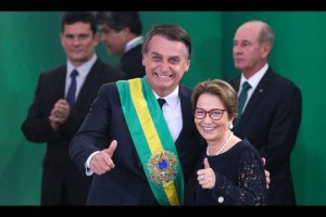 Tereza Cristina é 'plano de Bolsonaro' para presidência da Câmara, diz jornal